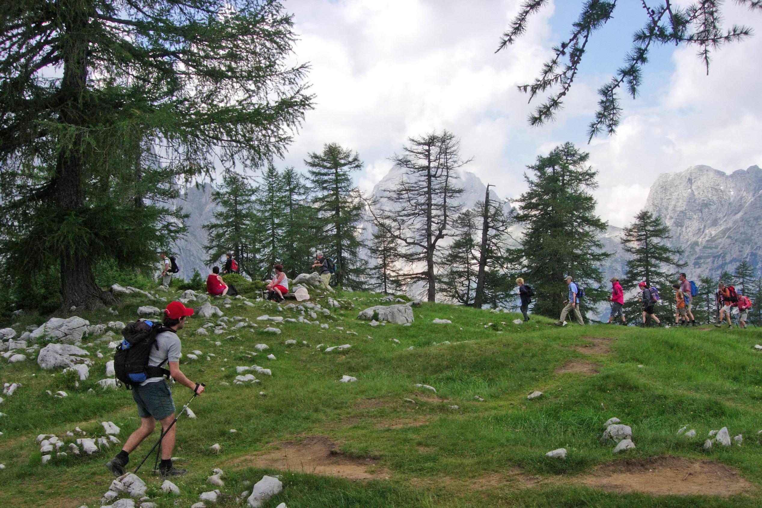 Pohodniški paketi v Julijskih Alpah