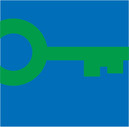 Green Key logo in colour small NO text